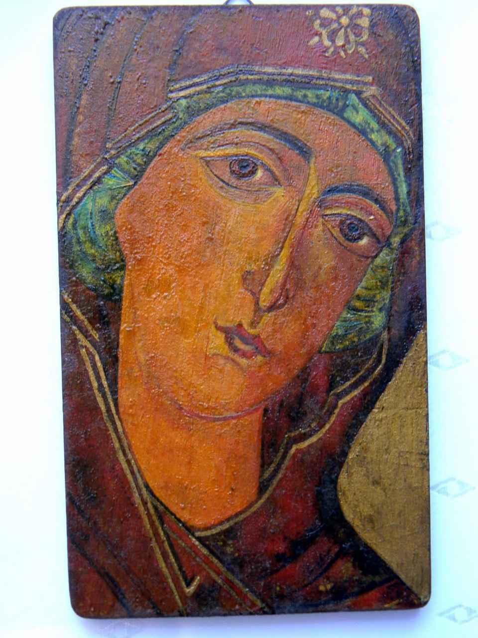 Beata-Sztark-MATKA-BOSKA-ODIGITRIA-drewno-tekowe-olej-19,5 x12