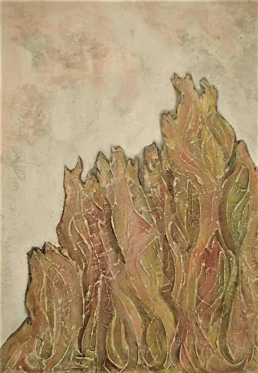 Ryszarda-Łucja-Jagielska-ENERGIA-ŻYCIA-akryl-na-płótnie 100x70
