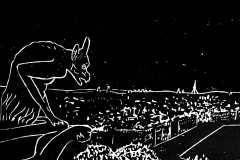 Joanna-Adamek-NOTRE-DAME-DE-PARIS - – 85ème exposition internationale AAA Ligne et Couleur w ratuszu V dzielnicy Paryża / 2020