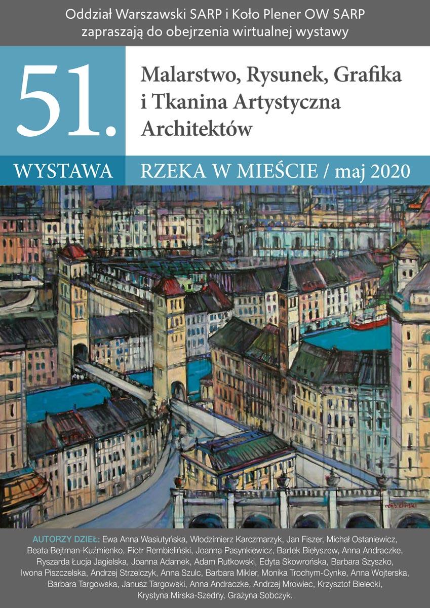 Wystawa RZEKA W MIEŚCIE - plakat