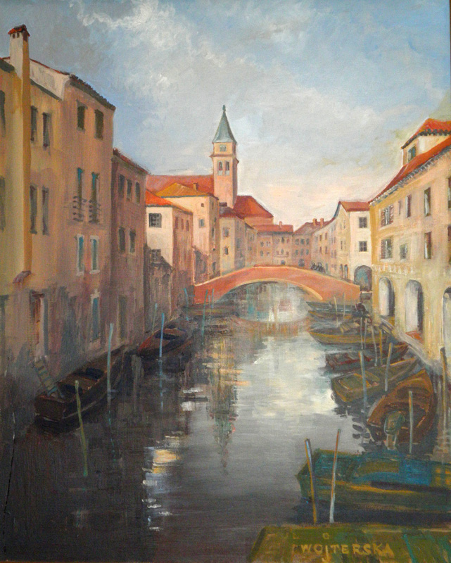 Anna Wojterska - Rzeka w mieście