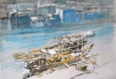 Włodzimierz-Karczmarzyk-Dubaj-Zjednoczone-Emiraty-Arabskie-Życie-na-Creeku-to-wodny-szlak-w-środku-dawnego-miasta