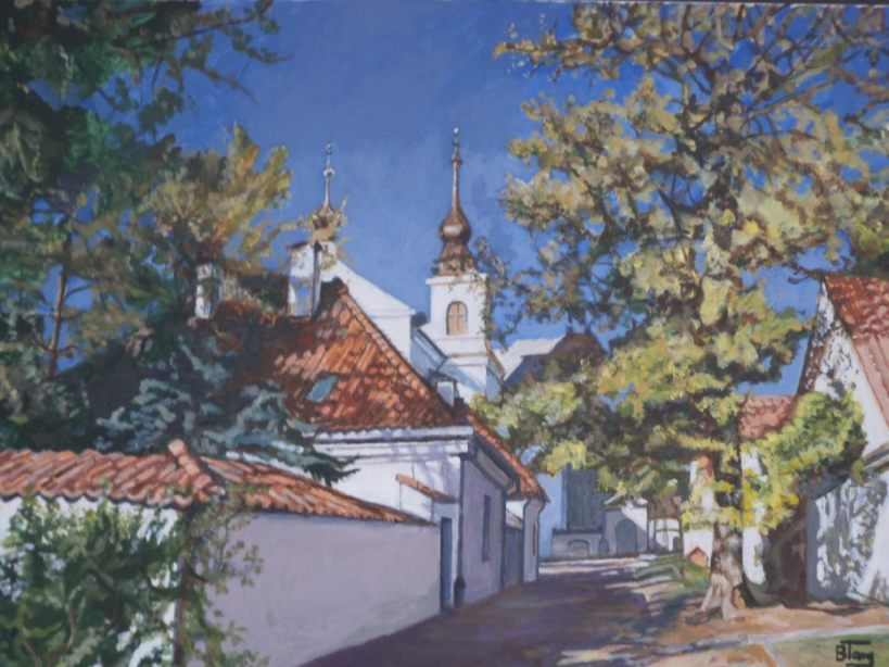 Barbara - Targowska - BIELANY-akryl-80x60