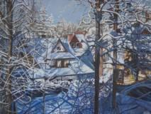 Barbara - Targowska - ZIMA-W-ZAKOPANEM-akryl-80x60