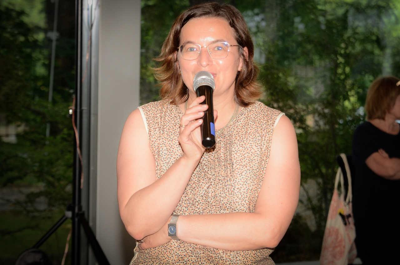 Maria Saloni - Sadowska  prezes OW SARP