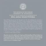 Ewa Anna Wasiutyńska  - AKWARELE Muzeum Politechniki