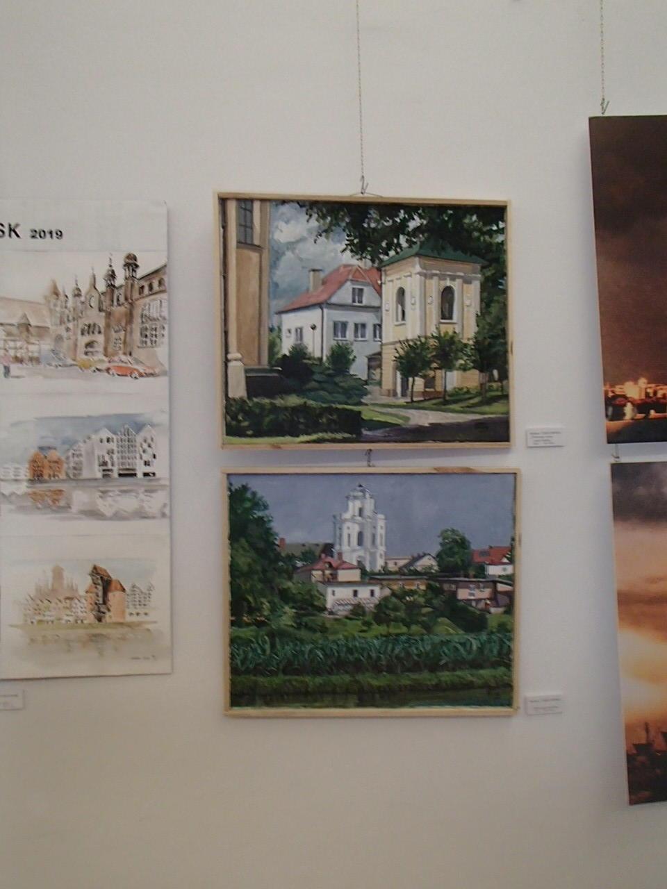 Obrazy Barbary Targowskiej - SALON JESIENNY 2019 - Sala Lustrzana - Pałac Zamoyskich