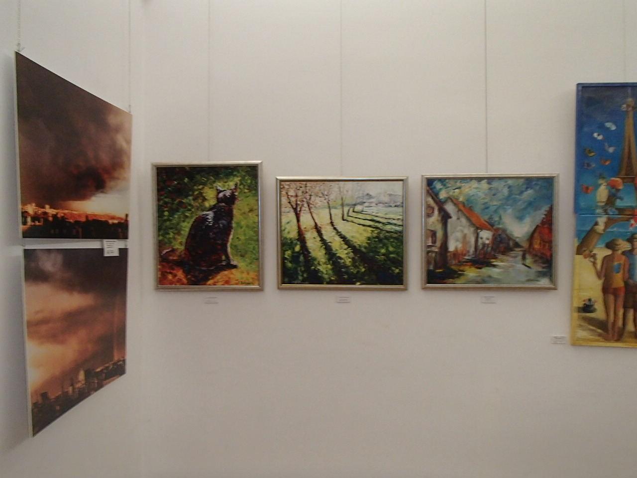 obrazy Adama Rutkowskiego - SALON JESIENNY 2019 - Sala Lustrzana - Pałac Zamoyskich