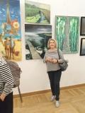 Barbara Obrębska – Mikler  - SALON JESIENNY 2019 - Sala Lustrzana - Pałac Zamoyskich