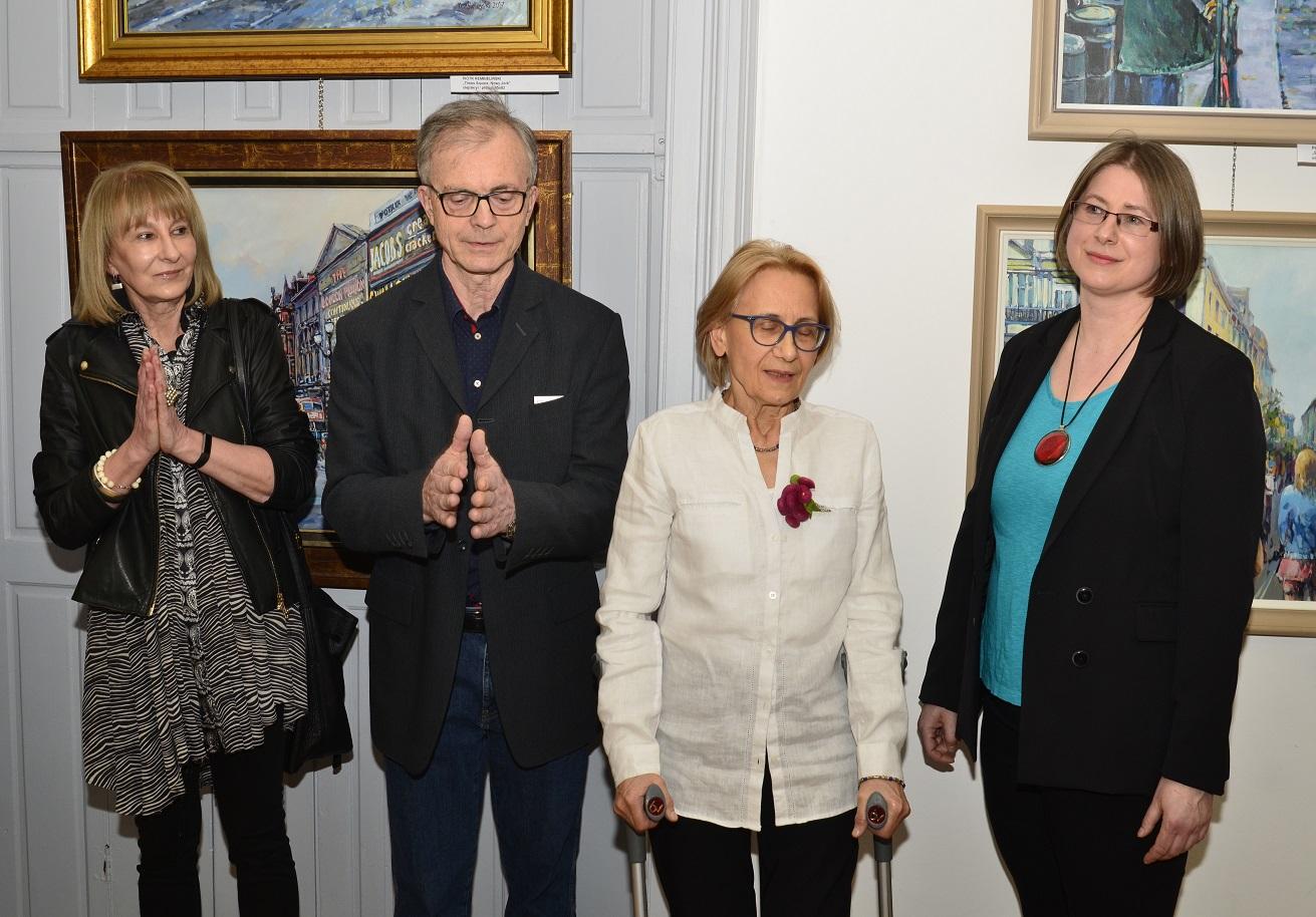 """wernisaż Koła Plener OW SARP """"FOCUS""""  - Pałac Zamoyskich ul. Foksal 2 w Warszawie"""